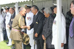 Governor General acknowledges Kiingi Tuheitia