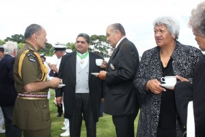 Cup of tea with the Governor General