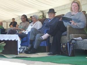 HE Zodwa Lallie, Makau Ariki Atawhai, Kiingi Tuheitia & HE Ms Caroline Chretien